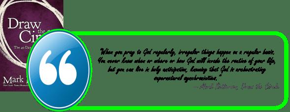 Praying Regularaly-batterson