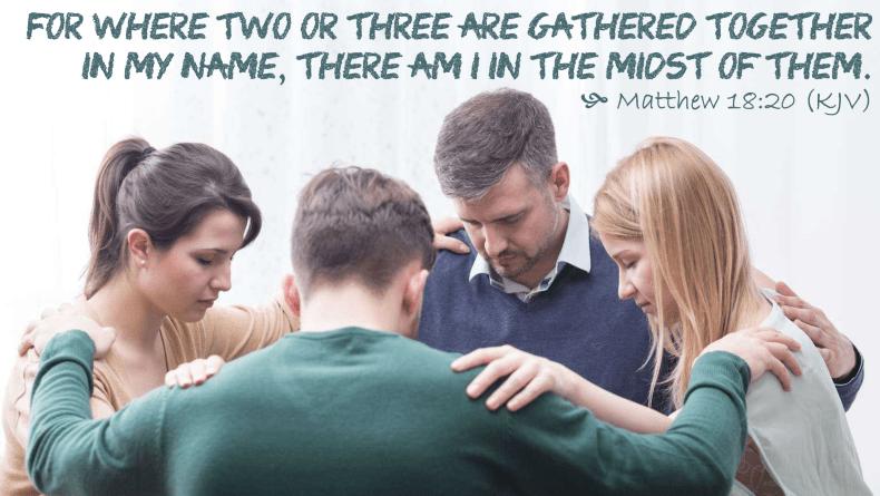 Jan 25 Matthew 18 20 KJV