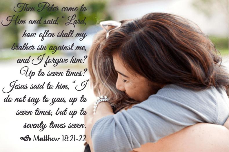 Jan 26 Matthew 18 21-22