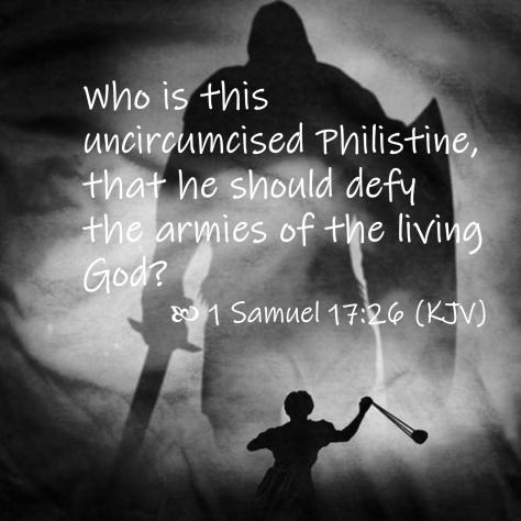 April 15 1 Samuel 17 26 KJV