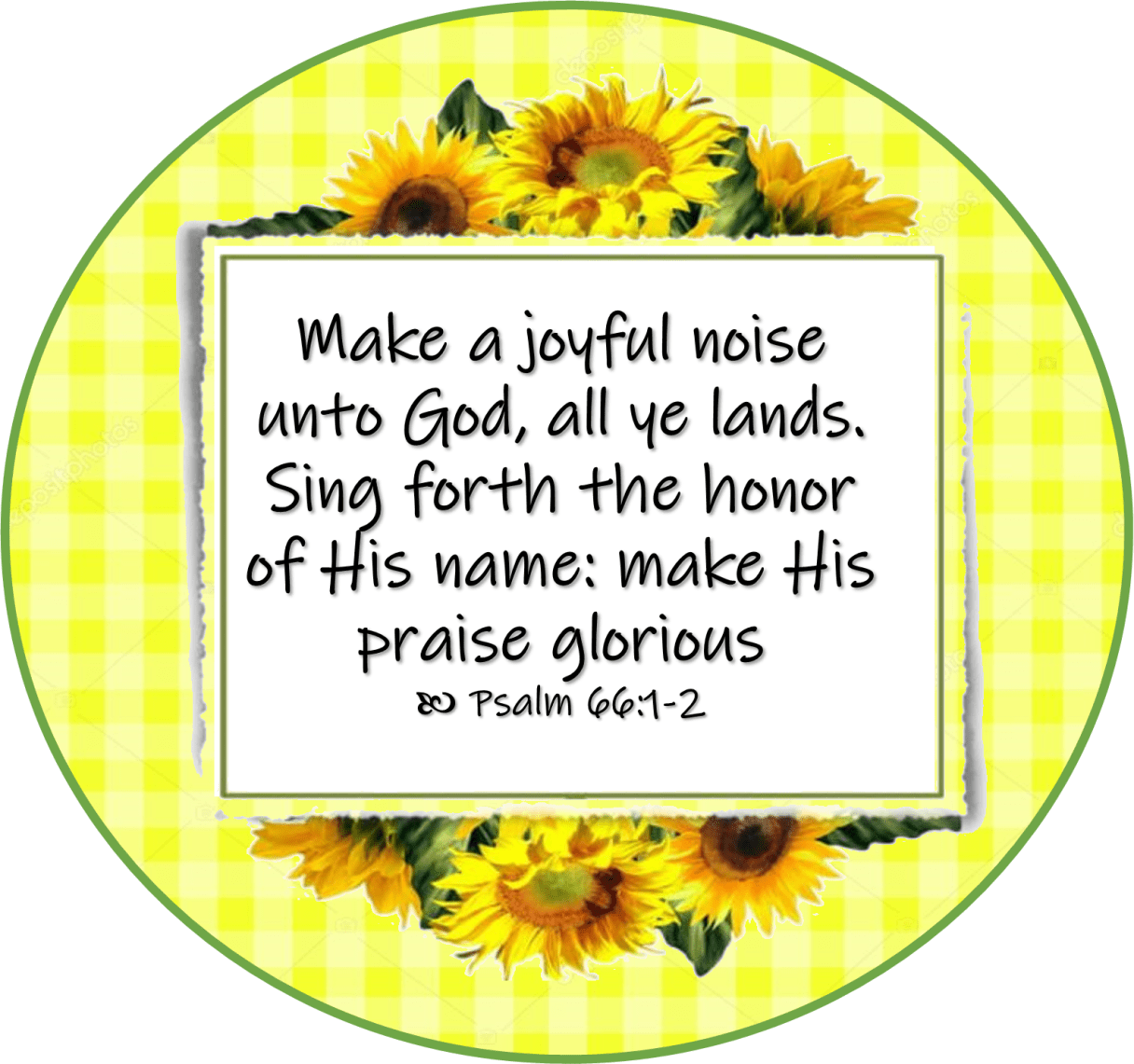 Aug 01 Psalm 66 1-2