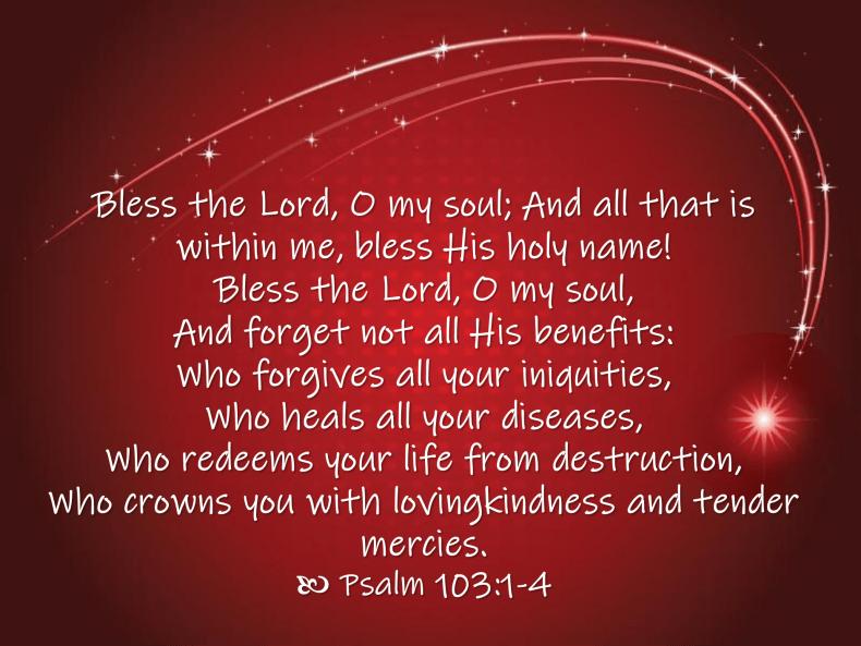 Aug 15 Psalm 103 1-4