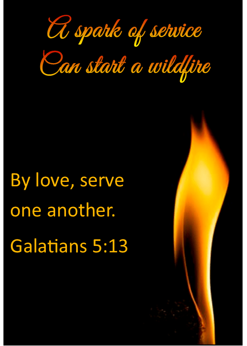 The result of developing faith is members who are engaged in loving and serving others