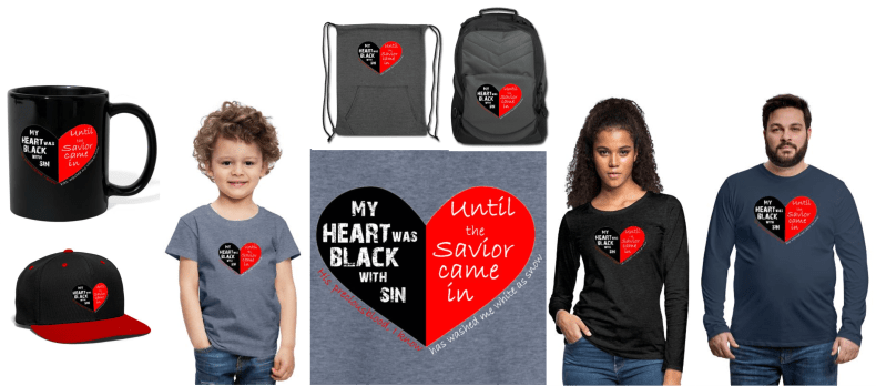 heart black with sin samples