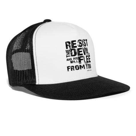 resist the devil cap
