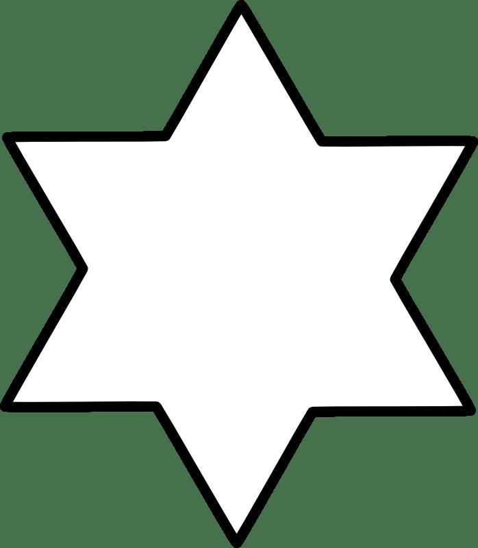 Star of David Chrismons