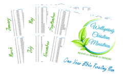Bible Reading Plan Download