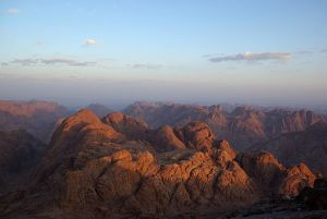 Mt. Sinai, photo by Berthold Werner, Creative Commons License, via Wikimedia Commons