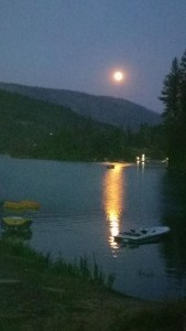 Bass Lake Full Moon, Cantor Mitzi Schwarz