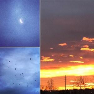 Sunrise in Colorado, JHD