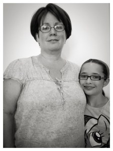 Mom Jill, and daughter Josie