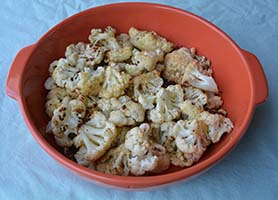 Delicious Roasted Cauliflower
