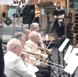 he brass band that played whilst I was on a conference call - challenges of remote working
