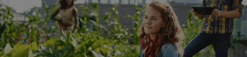Global impact of farming - city farm - roof top farming