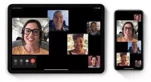 work from home video calling facetime