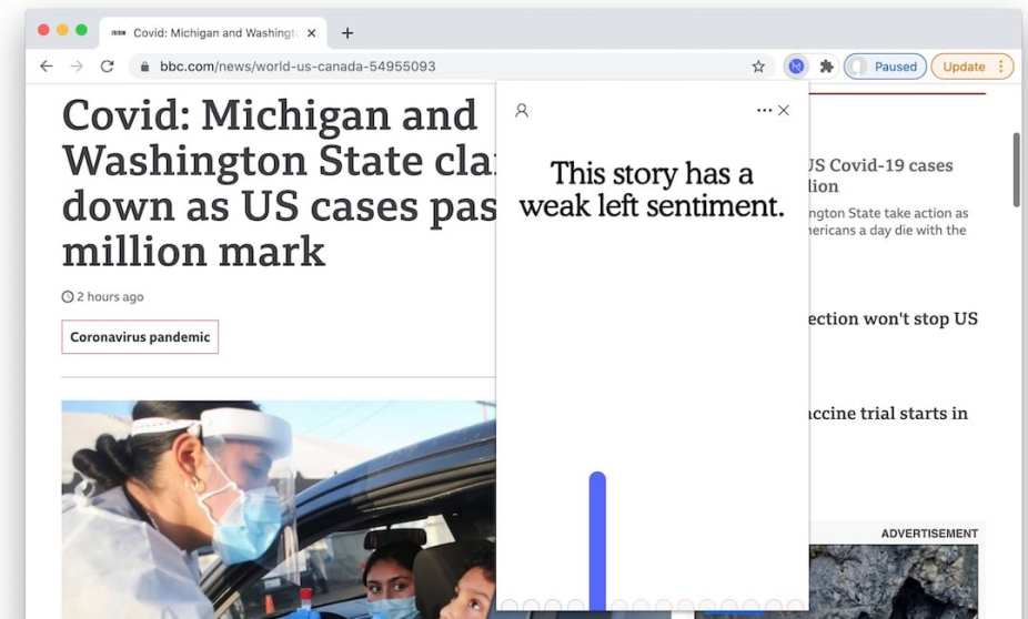 plugin to detect bias in news stories 6