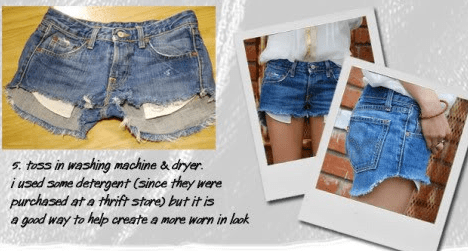 Pinterest How to Cut Shorts