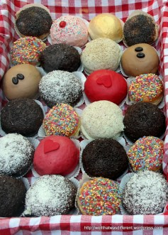 Krapfen (donuts) are a traditional Christmas thing here.