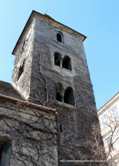 The Romanesque bell tower
