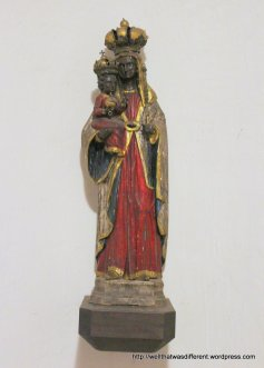 The Loretomadonna, carved of ebony wood