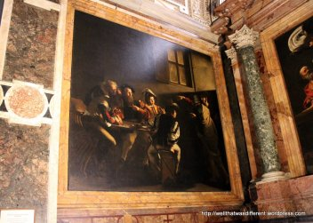San Luigi dei Francesi: Carravaggio's The Calling of St Matthew