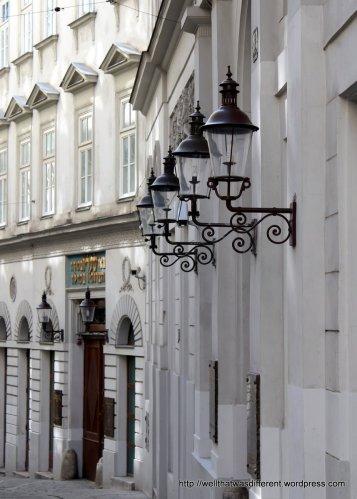 Seitenstettengasse, one of the oldest streets in Vienna