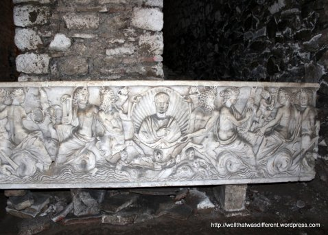 San Crisogono in Trastevere: early Christian tomb