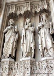 Neo-Gothic 19th century sculptures