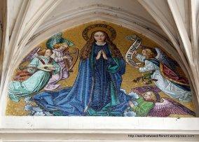 19th century mosaic--Assumption