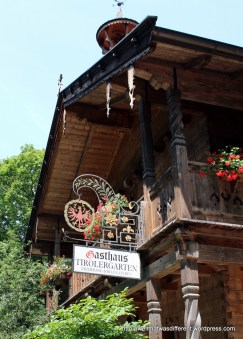 Gasthaus in Maria Teresa's hobby farm at the top of the hill.