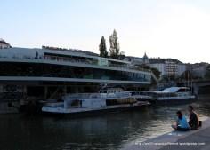 Giant boat-shaped bar.