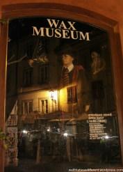 Creepy wax museum.
