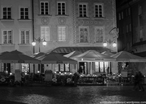 Old Town by night.