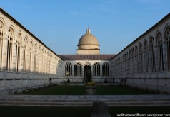 The Campo Santo: a huge cemetery full of monuments.