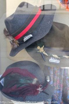 Tyrolean hats.