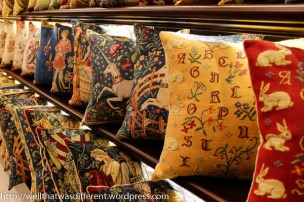 More pillows--they really are nice.