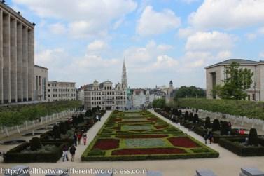 Formal garden near the Musee de Beaux Arts