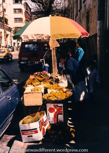 Snack vendor.
