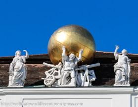 At the Hofburg.