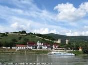Hainburg (I think) the traditional border between Austria and Slovakia.