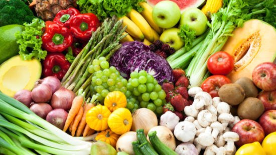 Eat Fruits and veggies for good health and weight loss