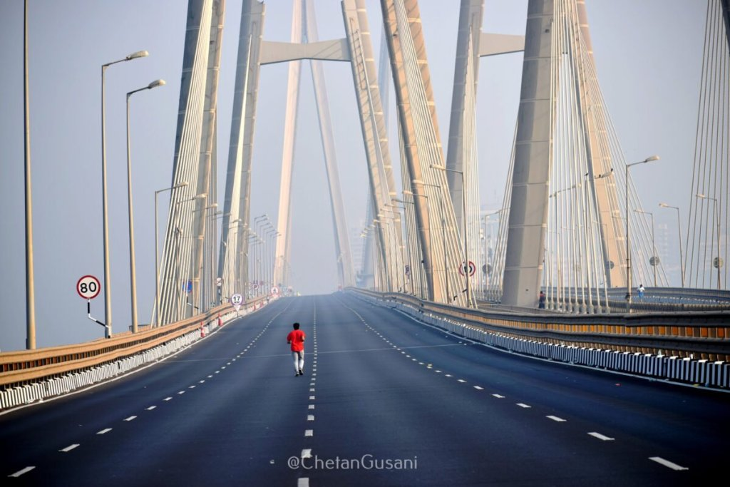 Amongst a trillion of pictures taken at the Tata Mumbai Marathon 2019 had the most heart pulling picture that every runner who ran that route was envious of! By Chetan Gusani