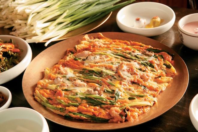 Dongnae Pajeon (Dongnae Green Onion Pancake). Image courtesy Korea Tourism Organisation