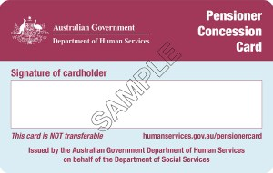 Pensioner card