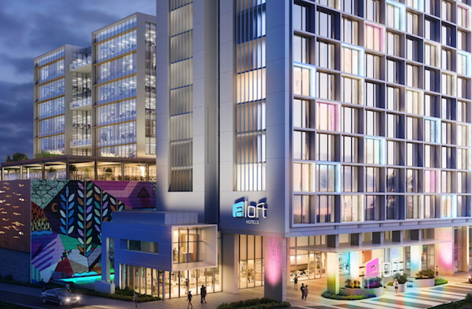 Aloft Perth to open 27 May.