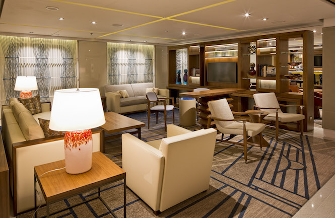 Viking Star lounge area.