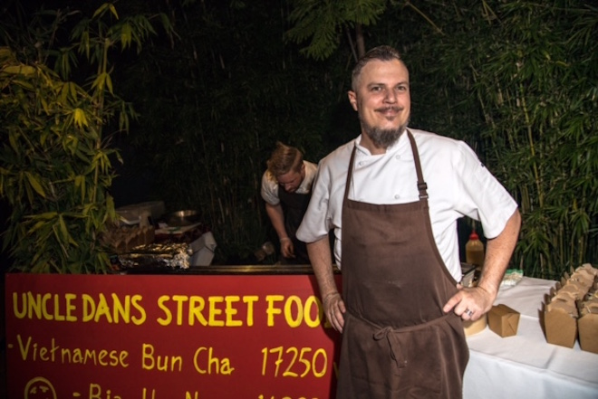 Chef Dan from Spicers Tamarind Retreat in the Sunshine Coast hinterland.