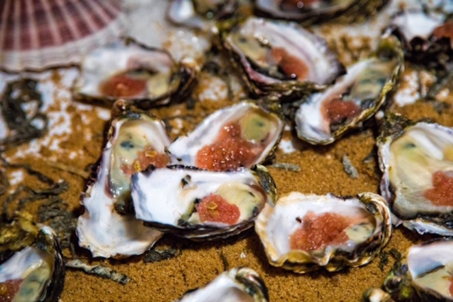 Coffin Bay oysters to get us started. Image credit Sue Whiteman.