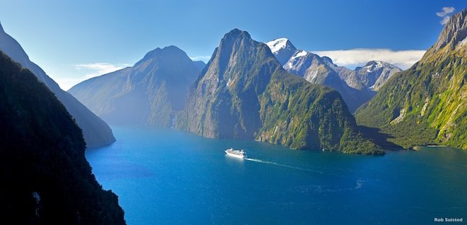Milford Sound Fiordland. Image credit Rob Suisted.