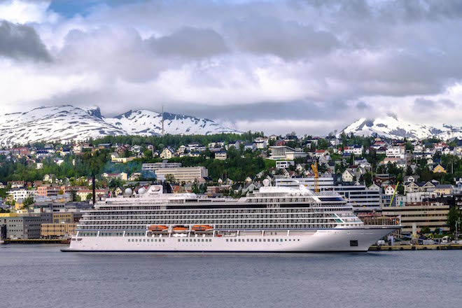 Viking Sky in Tromso.